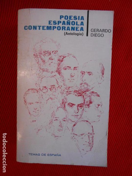 POESIA ESPAÑOLA CONTEMPORANEA (Libros de Segunda Mano (posteriores a 1936) - Literatura - Narrativa - Otros)
