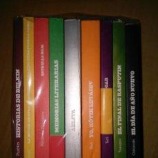 Libros de segunda mano: COLECCION DE VARIOS TITULOS CLASICOS DE LA LITERATURA RUSA PUSHKIN DOSTOIEVSKI BOGDANOV BIELI NUEVO. Lote 103090787