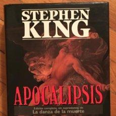 Libros de segunda mano: STEPHEN KING: APOCALIPSIS - EDICIÓN COMPLETA, SIN SUPRESIONES, DE LA DANZA DE LA MUERTE. Lote 103233855
