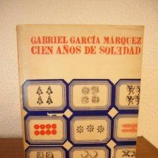 Libros de segunda mano: GABRIEL GARCÍA MÁRQUEZ: CIEN AÑOS DE SOLEDAD (SUDAMERICANA, 1969) PRIMERA EDICIÓN EN ESPAÑA. Lote 103855835