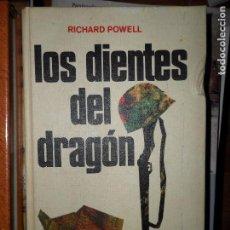 Libros de segunda mano: LOS DIENTES DEL DRAGÓN, RICHARD POWELL, ED. CÍRCULO DE LECTORES. Lote 103919075