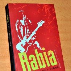 Libros de segunda mano: RABIA - DE JORDI SIERRA I FABRA - CÍRCULO DE LECTORES - AÑO 2000. Lote 103921291