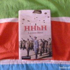 Libros de segunda mano: HHHH LAURENT BINET EDITORIAL: CIRCULO DE LECTORES (2011) 390PP. Lote 103976075