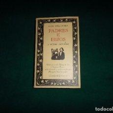 Libros de segunda mano: IVAN TURGENIEV, PADRES E HIJOS. CIRCULO DE LECTORES BIB. DE PLATA 1991. Lote 103989835