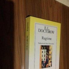 Libros de segunda mano: RAGTIME. E.L. DOCTOROW. GRIJALBO. RUSTICA. BUEN ESTADO. RARO. Lote 103995179