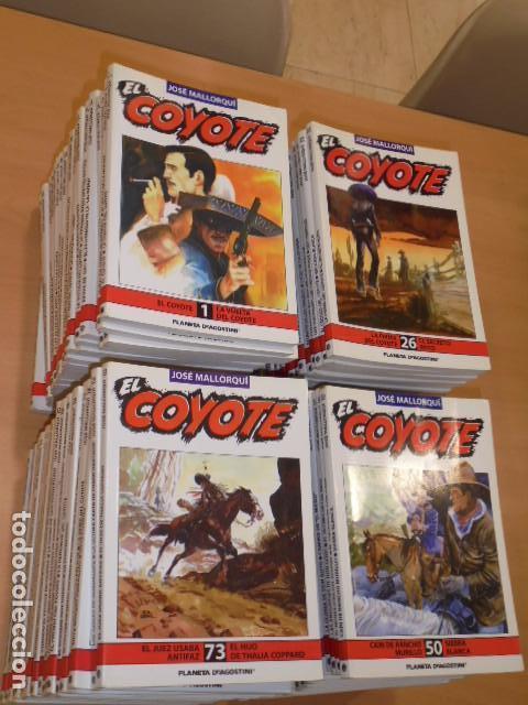 ENVIO GRATIS - EL COYOTE COMPLETA 96 TOMOS DEL Nº 1 AL 96 JOSE MALLORQUI - PLANETA - OFERTA (Libros de Segunda Mano (posteriores a 1936) - Literatura - Narrativa - Otros)