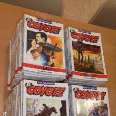 Libros de segunda mano: ENVIO GRATIS - EL COYOTE COMPLETA 96 TOMOS DEL Nº 1 AL 96 JOSE MALLORQUI - PLANETA - OFERTA. Lote 104091755
