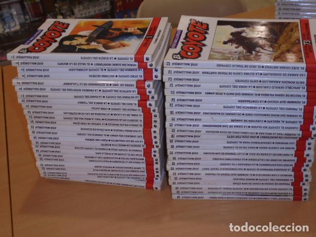 Libros de segunda mano: ENVIO GRATIS - EL COYOTE COMPLETA 96 TOMOS DEL Nº 1 AL 96 JOSE MALLORQUI - PLANETA - OFERTA - Foto 2 - 104091755