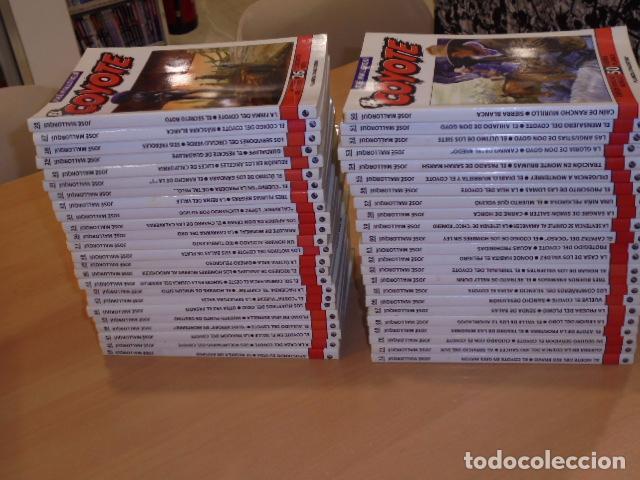 Libros de segunda mano: ENVIO GRATIS - EL COYOTE COMPLETA 96 TOMOS DEL Nº 1 AL 96 JOSE MALLORQUI - PLANETA - OFERTA - Foto 3 - 104091755