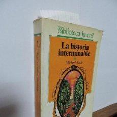Libros de segunda mano: LA HISTORIA INTERMINABLE. ENDE,MICHAEL. COL. BIBLIOTECA JUVENIL. ED.SALVAT-ALFAGUARA. BARCELONA 1987. Lote 104262667