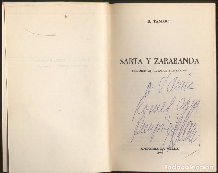 Libros de segunda mano: SARTA Y ZARABANBA - R. TAMARIT.- Historietas, cuentos y leyendas. 1974 - Foto 2 - 104373731