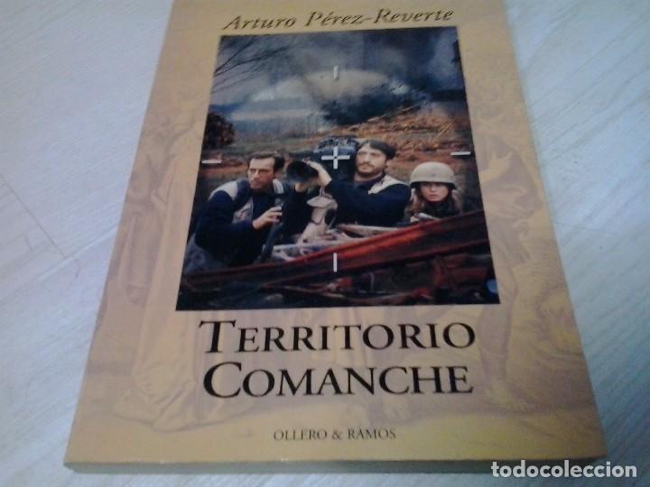 TERRITORIO COMANCHE , ARTURO PEREZ REVERTE, EDITORIAL OLLERO & RAMOS (Libros de Segunda Mano (posteriores a 1936) - Literatura - Narrativa - Otros)