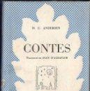Libros de segunda mano: ANDERSEN : CONTES (SELECTA, 1952) CATALÀ. Lote 104634759