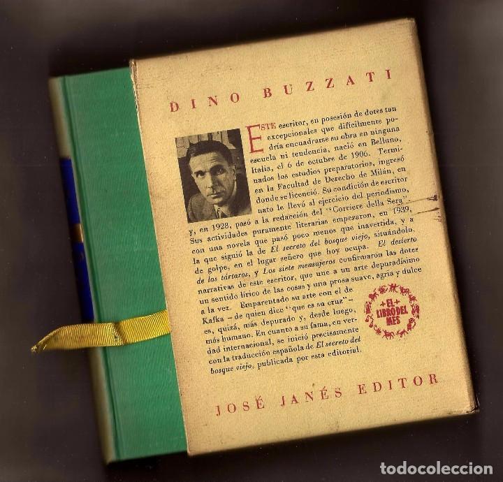 Libros de segunda mano: EL PERRO QUE HA VISTO A DIOS - DINO BUZZATI – ED. JOSÉ JANÉS, 1956 - 1ª EDICIÓN - Foto 2 - 104815339