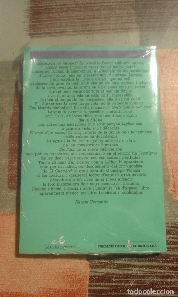 Libros de segunda mano: Tots els contes - G. Tomasi di Lampedusa - Precintado de editorial - en català - Foto 2 - 105055115