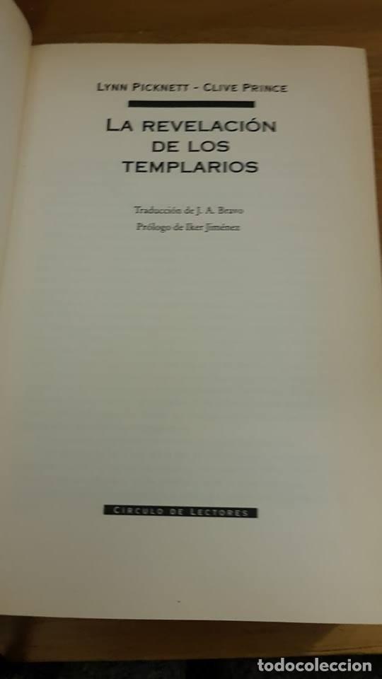 Libros de segunda mano: La revelación de los templarios - Lynn Picknett/Clive Prince - 2004 - Foto 4 - 105173751