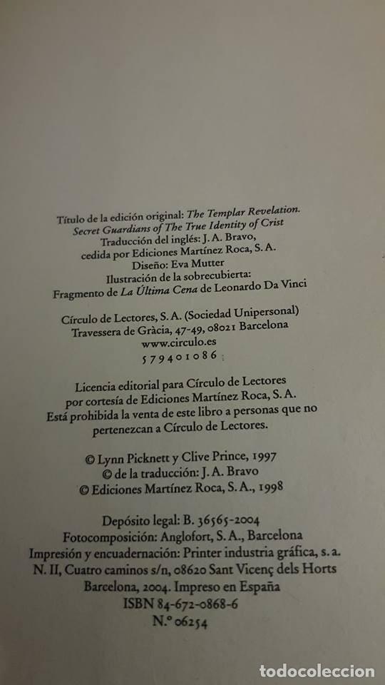 Libros de segunda mano: La revelación de los templarios - Lynn Picknett/Clive Prince - 2004 - Foto 5 - 105173751