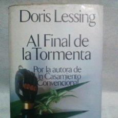 Libros de segunda mano: AL FINAL DE LA TORMENTA - DORIS MAY LESSING - ARGOS VERGARA - 1980 - RARA 1ª EDICION ESPAÑOLA.. Lote 105215911