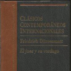 Libros de segunda mano: FRIEDRICH DURRENMATT. EL JUEZ Y SU VERDUGO. PLANETA. Lote 105671823