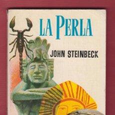 Libros de segunda mano: LA PERLA JOHN STEINBECK 128 PAGINAS LIBROS PLAZA IMP. GRAFICAS GUADA BARCELONA AÑO 1960 LL2195. Lote 105790131