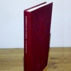Libros de segunda mano: TODOS LOS NOMBRES. JOSÉ SARAMAGO. CIRCULO. 1 ª ED, 1988. Lote 102543231
