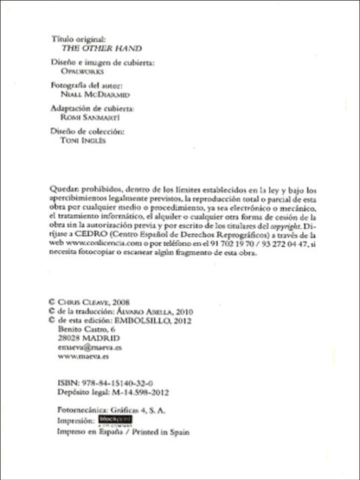Libros de segunda mano: CON EL CORAZÓN EN LA MANO, CLEAVE CHIS. EMBOLSILLO. 1 ª ed. 1 ª imp. 2012 - Foto 6 - 102479831