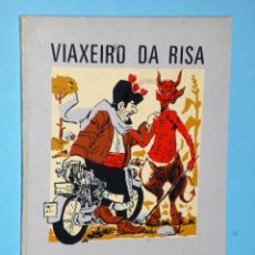 Libros de segunda mano: VIAXEIRO DA RISA. Lote 106606063