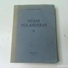 Libros de segunda mano: HOJAS VOLANDERAS (AUTOR: LUIS OCHARAN ABURTO) . Lote 106555187