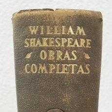 Libros de segunda mano: OBRAS COMPLETAS DE WILLIAM SHAKESPEARE AÑO 1947 - LUIS ASTRANA MARÍN - M. AGUILAR - EDITOR. Lote 107749198