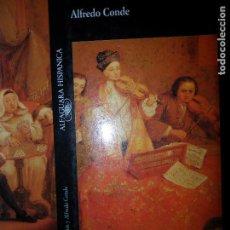 Libros de segunda mano: MÚSICA SACRA, ALFREDO CONDE, ED. ALFAGUARA. Lote 108357099