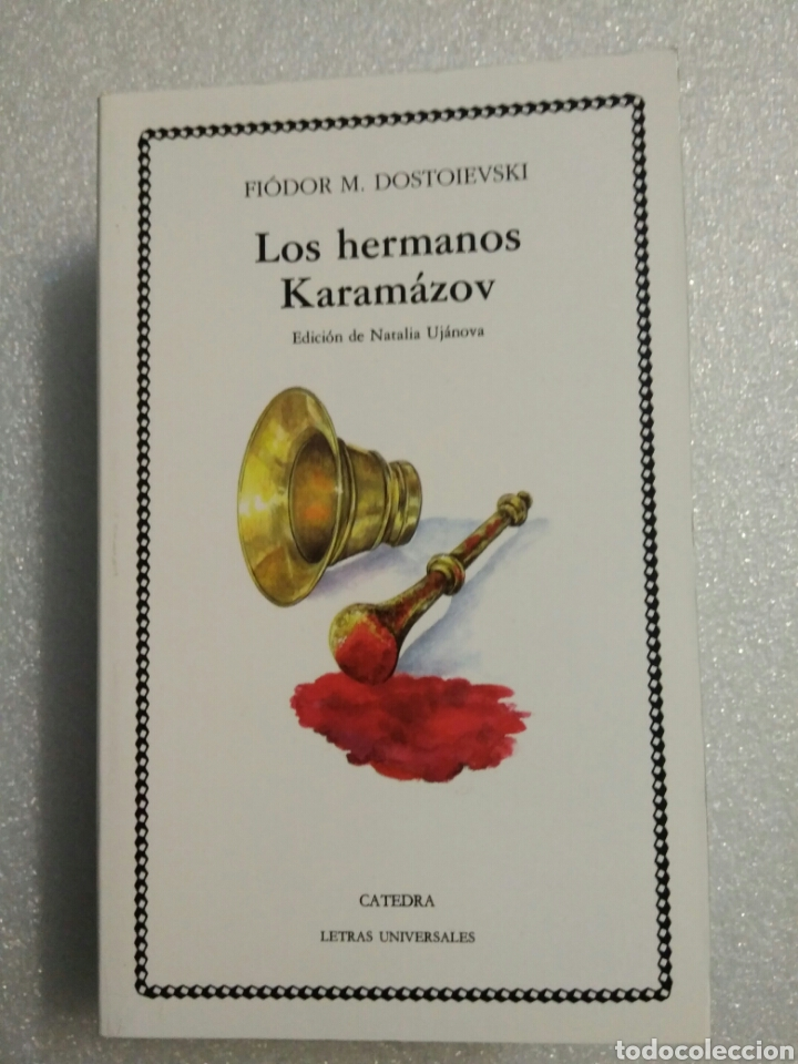 LOS HERMANOS KARAMAZOV. FIODOR DOSTOIEVSKI. CATEDRA (Libros de Segunda Mano (posteriores a 1936) - Literatura - Narrativa - Otros)
