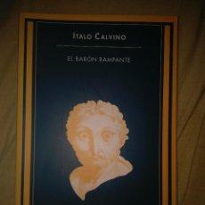 Libros de segunda mano: ITALO CALVINO EL BARON RAMPANTE SIRUELA. Lote 108679131