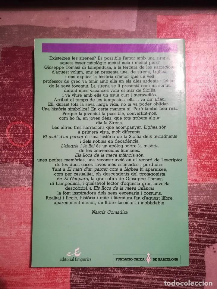 Libros de segunda mano: Tots els contes - G. Tomasi di Lampedusa - en català - Foto 2 - 109035631