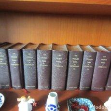 Libros de segunda mano: LOS PREMIOS NOBEL DE LITERATURA-PLAZA Y JANES-12 TOMOS- VARIAS EDICIONES. Lote 109075507