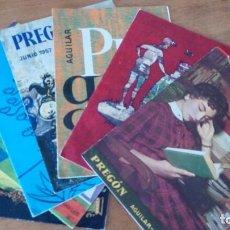 Libros de segunda mano: PREGON AGUILAR, PRECIO POR UNIDAD. Lote 109152303