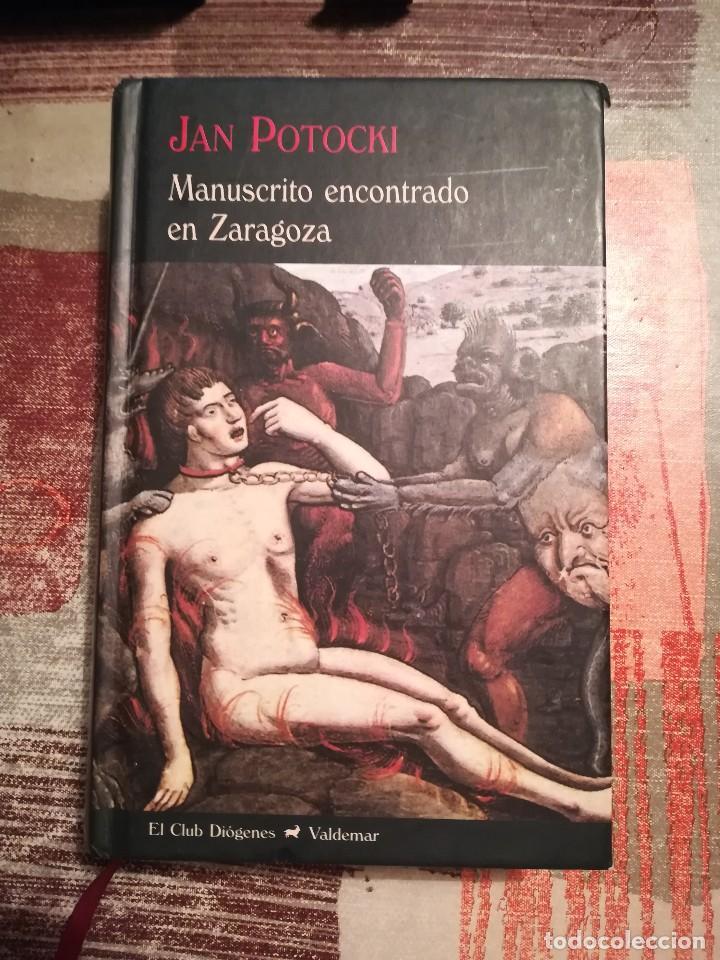 MANUSCRITO ENCONTRADO EN ZARAGOZA - JAN POTOCKI (Libros de Segunda Mano (posteriores a 1936) - Literatura - Narrativa - Otros)