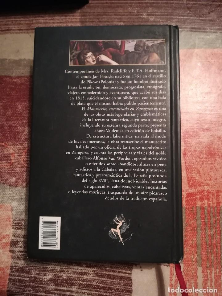 Libros de segunda mano: Manuscrito encontrado en Zaragoza - Jan Potocki - Foto 2 - 109159003