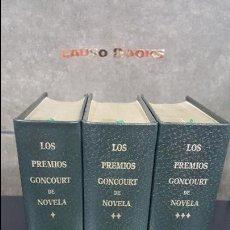 Libros de segunda mano: PREMIOS CONCOURT DE NOVELA.2 TOMOS MUY BUEN ESTADO.1 , 2 Y 3 TOMOS.PLAZA JANES.VER FOTOS. Lote 109182079