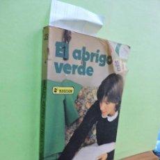 Libros de segunda mano: EL ABRIGO VERDE. GRIPE, MARÍA. ED. SM. MADRID 1983. 2ª EDICIÓN. Lote 109327879