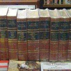 Libros de segunda mano: PREMIOS NADAL. 16 TOMOS. DESDE LA NOVELA NADA HASTA CIEGAS ESPERANZAS A-NSF-3209. Lote 109357455
