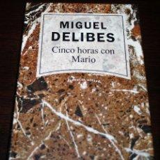 Libros de segunda mano: MIGUEL DELIBES - CINCO HORAS CON MARIO - NARRATIVA ACTUAL Nº 8 - RBA - 1992. Lote 109484655