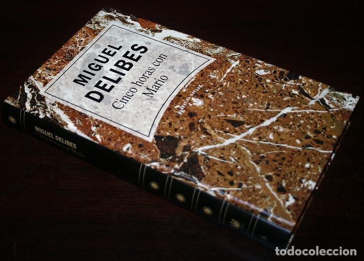 Libros de segunda mano: MIGUEL DELIBES - CINCO HORAS CON MARIO - NARRATIVA ACTUAL Nº 8 - RBA - 1992 - Foto 2 - 109484655