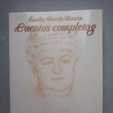 Libros de segunda mano: CUENTOS COMPLETOS. EMILIA PARDO BAZÁN.. Lote 109490927