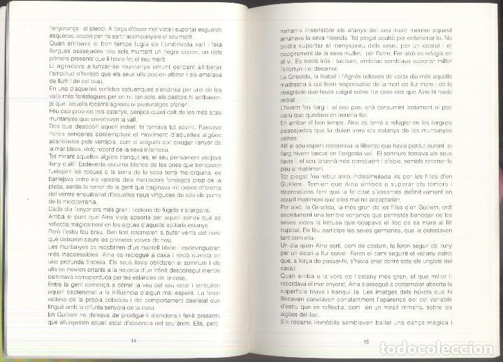Libros de segunda mano: TRISTAINA ... UN SOMNI ? - JOSEP MA. SAN MARTIN - PREMI SAN CARLES 1990- ANDORRA - Foto 4 - 109839815
