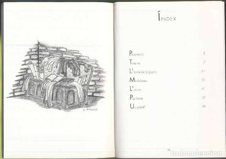 Libros de segunda mano: TRISTAINA ... UN SOMNI ? - JOSEP MA. SAN MARTIN - PREMI SAN CARLES 1990- ANDORRA - Foto 5 - 109839815