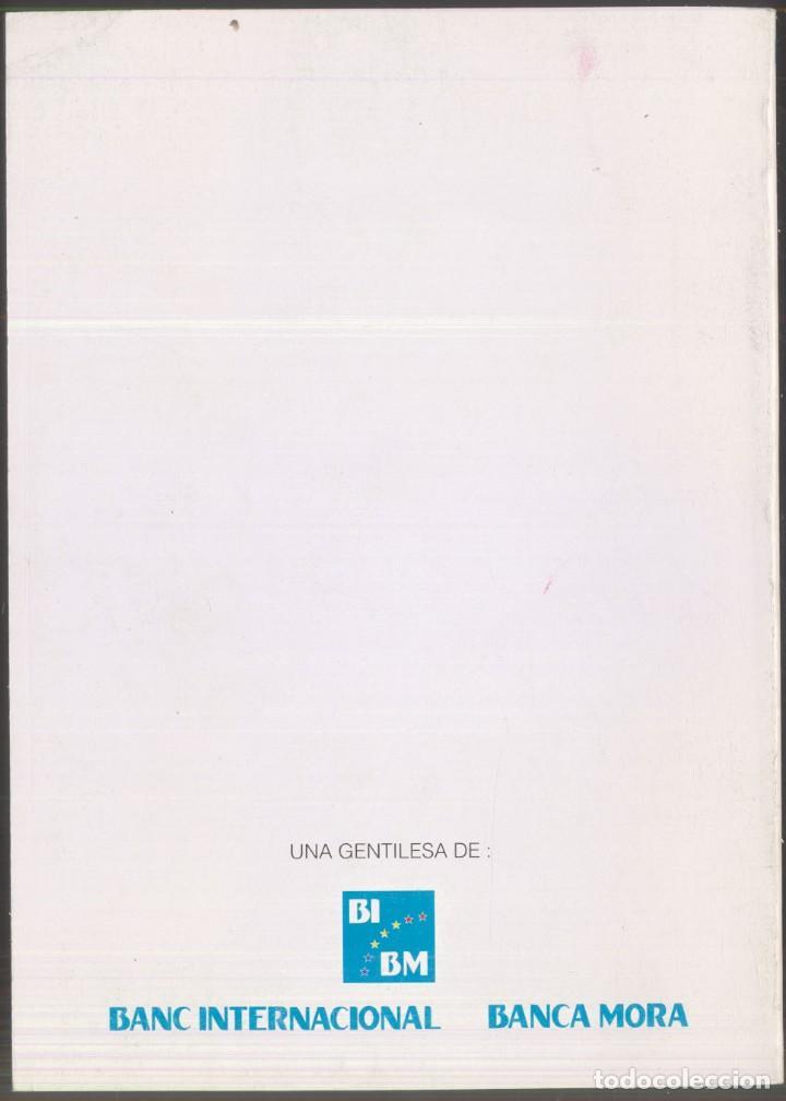 Libros de segunda mano: TRISTAINA ... UN SOMNI ? - JOSEP MA. SAN MARTIN - PREMI SAN CARLES 1990- ANDORRA - Foto 6 - 109839815