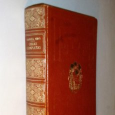 Libros de segunda mano: OBRAS COMPLETAS DE GRABRIEL MIRÓ. Lote 110052855