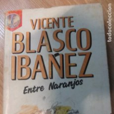 Libros de segunda mano: ENTRE NARANJOS -BLASCO IBAÑEZ . Lote 110100615