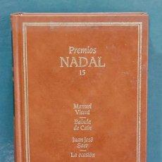 Libros de segunda mano: PREMIOS NADAL, NUM. 15. VICENT/SAER/APARICIO. Lote 110705695