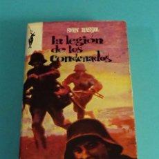 Libros de segunda mano: LA LEGIÓN DE LOS CONDENADOS. SVEN HASSEL. ¿DEDICATORIA AUTÓGRAFA DEL AUTOR?. Lote 111375975